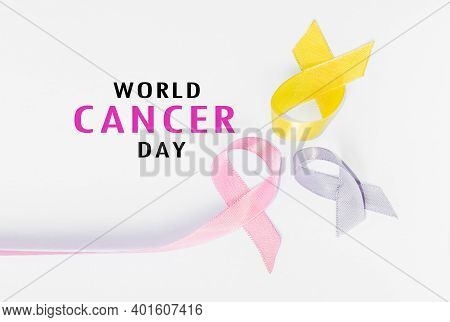 World Cancer Day Concept . International Childhood Cancer Day. Cancer Concept.