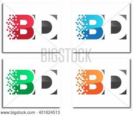 Bd Pixel Creative Logo Design Company Concept