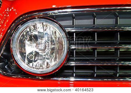Mini Cooper Countryman's Headlight