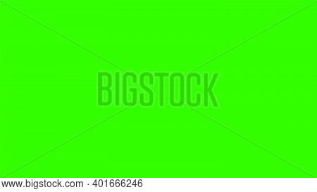 Screen Green Background For Television Video Or Photo. Chroma Key Screen Film Template.