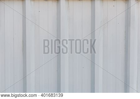 Close Up To Pattern Texture Vertical Zinc. Zinc Background.