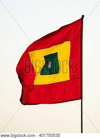 Bandera Cuadrilonga Flag Of Cartagena De Indias Barranquilla El Carmen De Bolivar Malambo Tenerife W