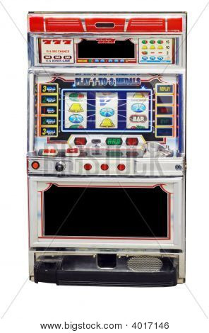 Isolated Slot Machine