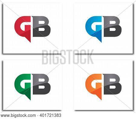 Gb Alphabet Beautiful Logo Design Company Concept