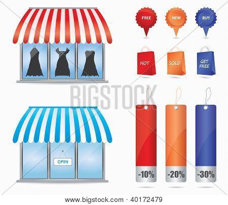 Cute Shop Icons