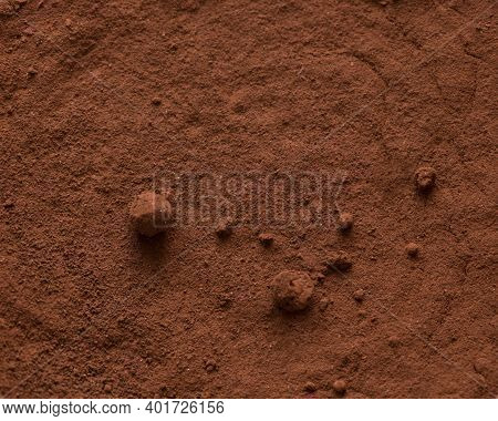 Abstract Color Background And Texture: Brown Pigment.