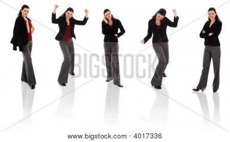 Happy Woman Clone