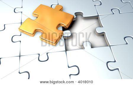Jigsaw Gold