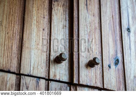 Wooden Casement Drawer Doors With A Wooden Lining