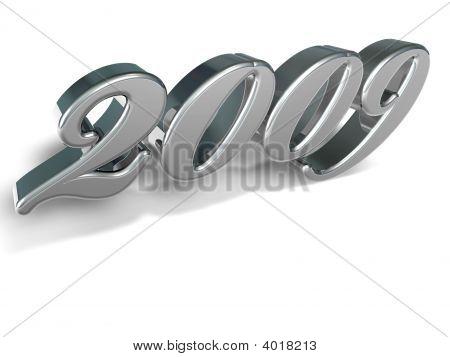 2009 3D Text Chrome