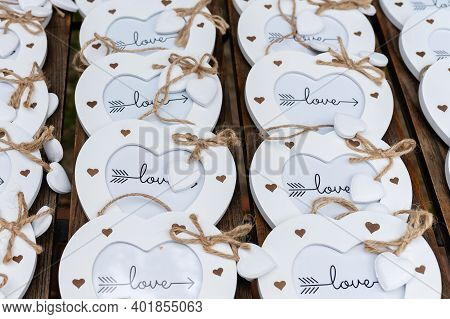Picture Of Decorative Love Hearts For Wedding Decoration