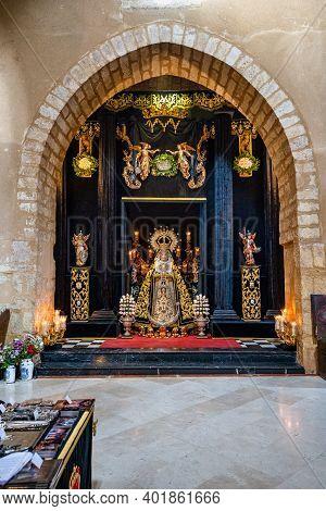 Cordoba, Spain - November 02, 2019: San Lorenzo Church In Cordoba, Andalusia, Spain. It Was Built Be