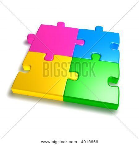 Colorful Jigsaw
