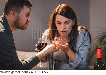 Is drunk wife Married to