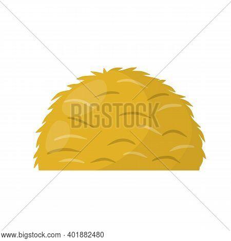 Sheaf Of Wheat Ears. Rural Crop. Autumn Rustic Element.