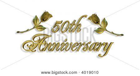 50Th Anniversary Graphic