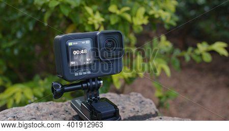 Hong Kong 22 September 2020: Gopro camera