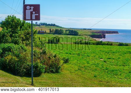 Landscape And Countryside In The West Cape, Prince Edward Island, Canada