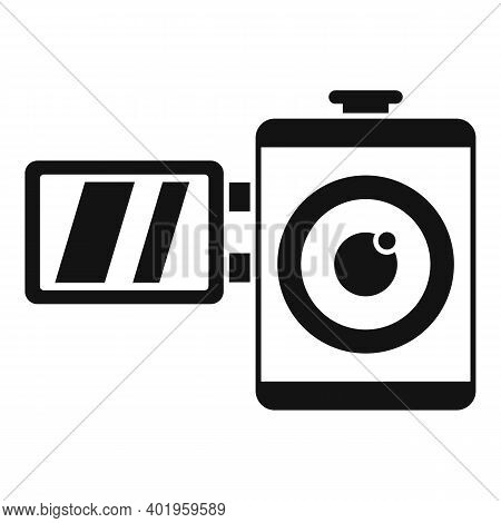 Home Video Camera Icon. Simple Illustration Of Home Video Camera Vector Icon For Web Design Isolated