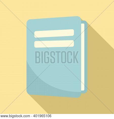 Sociology School Book Icon. Flat Illustration Of Sociology School Book Vector Icon For Web Design
