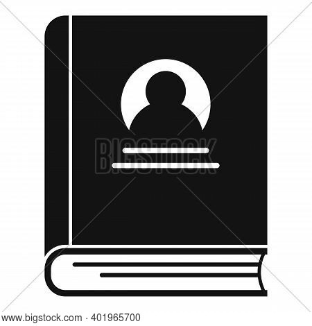 Sociology Old Book Icon. Simple Illustration Of Sociology Old Book Vector Icon For Web Design Isolat