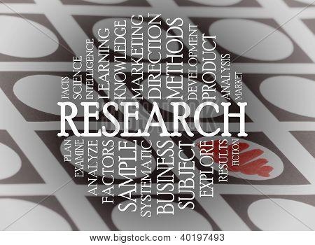 Research Cloud Concept