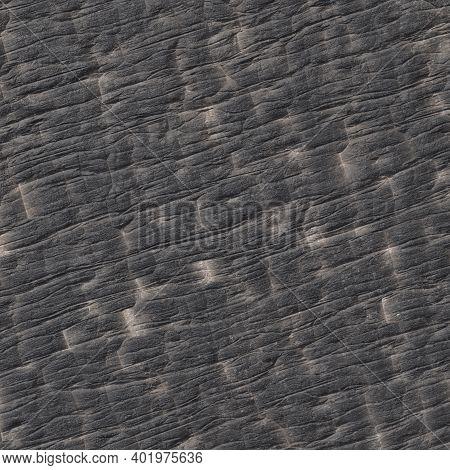 Texture Of Burnt Wood Close-up, Black Background Of Burnt Wood 3d-rendering