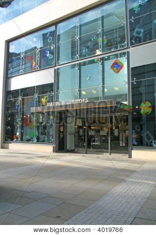 Harvey Nichols Store In Manchester England