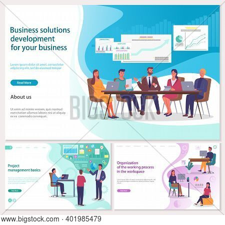 Business Solutions Development For Your Business, Project Management Basics, Organization Of Working