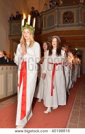 Santa Lucia celebration