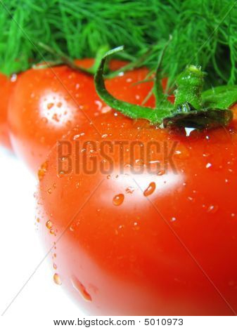 Tomatoes With Drops
