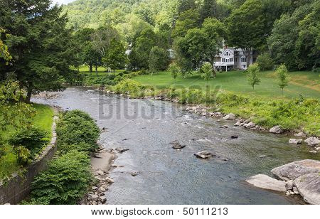 The Meandering Ottauquechee River
