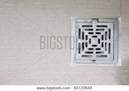 Sewer Grate Drain Water