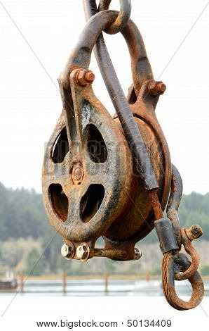 Rusted Pulley