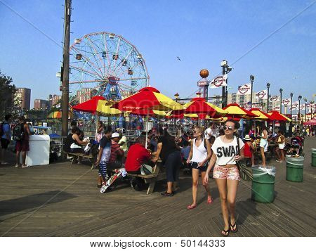 Boardwalk Coney Island