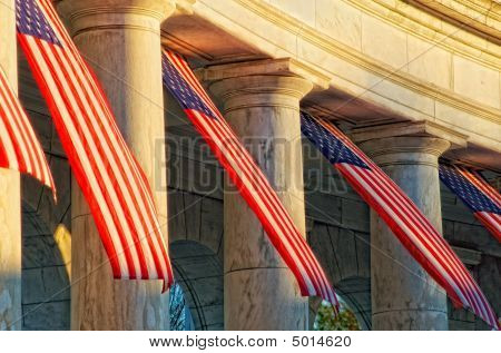 Sunrise At Arlington National Cemetery