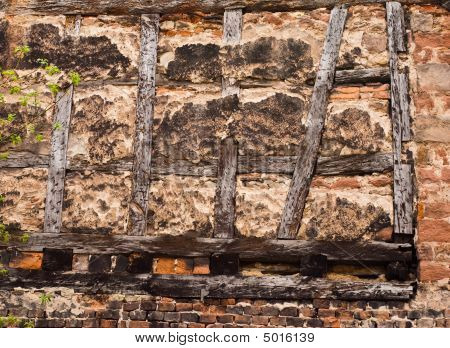 Old Half-timbered Wall