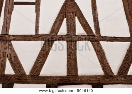 Half-timbered Wall