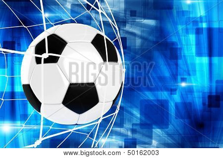 Goal Soccer Illustration