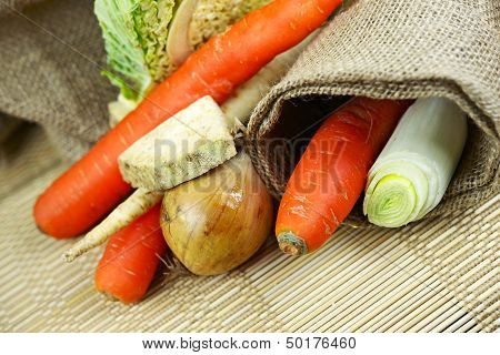 Vegetables Closeup