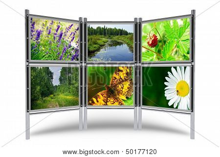 Photos Display Stand