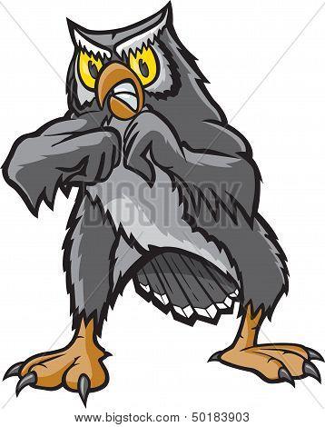 Fighting Owl