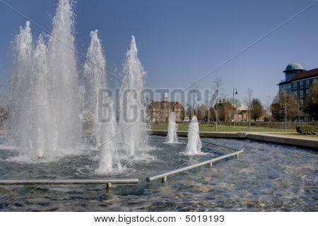 Letchworth Fountains