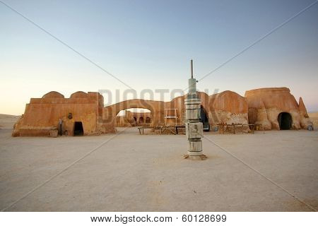 Remains Of Film Star Wars In Ong Jemel
