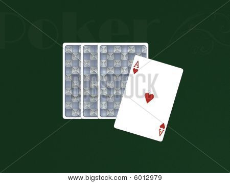 Pocker Cards With 1 Ace