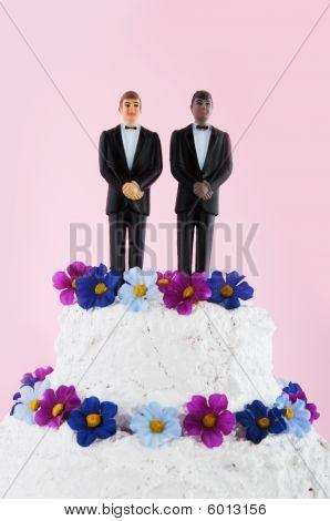 Homo Wedding Cake