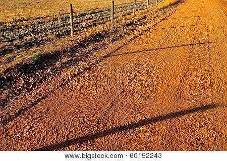 Fenced Road