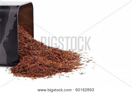 Natural Organic Rooibos In A Tin.
