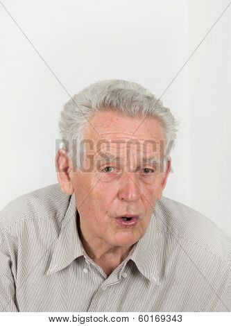 Surprised Old Man