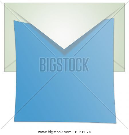 Opened Envelope Illustration